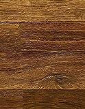 wRW04360 Wicanders Kentucky Holzparkett Vermont Räuchereiche Rustikal Landhausdielen 2-Stab Fertigparkett, handgebürstet, weiß geölt, kerngeräuchert (dunkel)