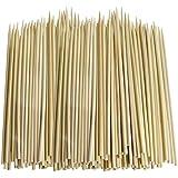 Lot de 100 pics pour brochettes en bambou - 25cm