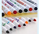 #10: Inventis TM) Set of 8 Unique Color Stamp Marker Pen Set with Watercolor based Ink for Kids Adults School College Office Pre-School Art Drawing Coloring Creative Painting Mix Match Creativity for Age 3+