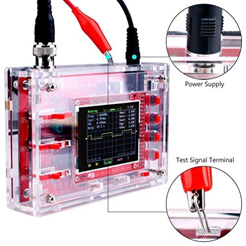 DSO138 2.4 pulgadas TFT del osciloscopio digital caja de acrílico (Color: transparente)