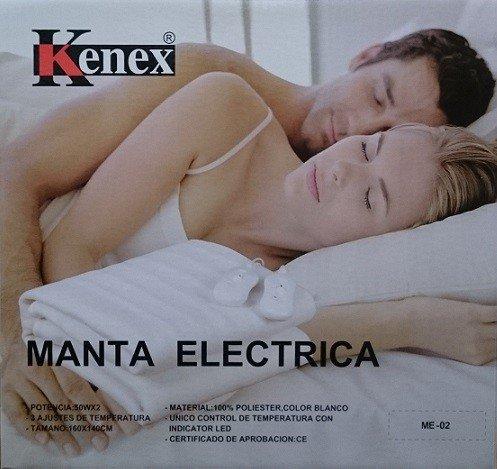 JPWonline - Manta eléctrica doble 160 X 140 cm