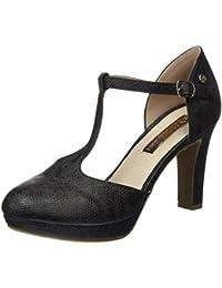 30212, Escarpins Bout Fermé Femme, Noir (Black), 37 EUXti
