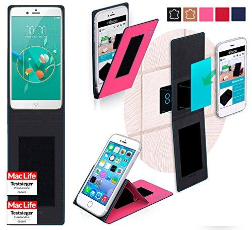reboon Hülle für ZTE Nubia Z17 Mini Tasche Cover Case Bumper | Pink | Testsieger
