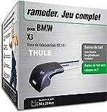 Rameder Pack Barres de Toit WingBar Edge pour BMW X3 (119611-38057-1-FR)