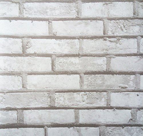 Klebefolie - Möbelfolie Design Naturstein grau - Mauer - 90 cm x 200 cm Selbstklebende Folie -