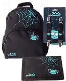 Skiweb - Cartera, mochila y clips de la araña Freddie