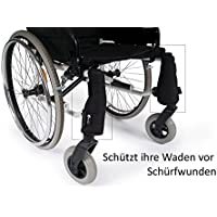 saljol trippel–Polainas (2unidades, derecha, izquierda), silla de pierna Protección.