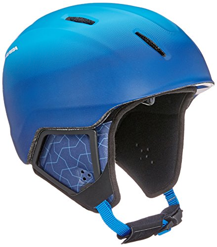 Alpina Kinder Carat XT Skihelm, Blue/Gradient Matt, 54-58 cm