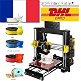 AA+inks 2018 New Desktop A8 DIY 3D Printer Kits, High Accuracy Self-assembly, ProB