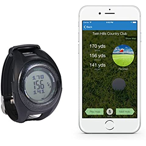 Reloj de golf GPS para obtener rango de 60beat
