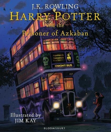 Harry Potter And The Prisoner Of Azkaban (Harry Potter Illustrated Edtn) por J K Rowling