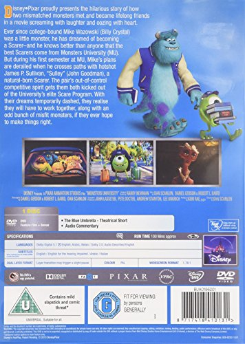 Image of Monsters University [DVD]