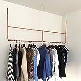 Copper Hanger Large - Garderobe -1,5 m - 100 % Kupfer