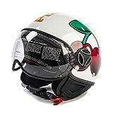 Pacha–Momo Ibiza casco da moto Ufficiale Logo ciliegie Unisex S