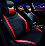#6: Frontline Platinum Series PU Leather Car Seat Cover for New Maruti Swift 2018 Model