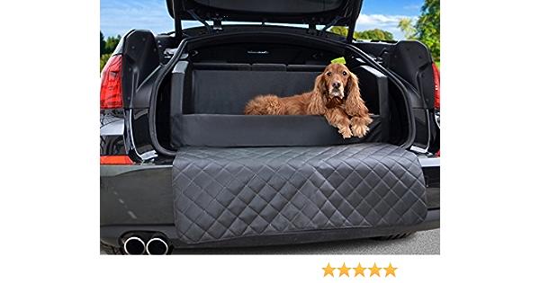 Travelmat Plus Kofferraum Hundebett Fürs Auto 110x90 Cm Kunstleder Schwarz Haustier