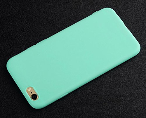 iTemer Coque Soft Tpu For iPhone 6/6s, Ultra Léger Ultra Mince Anti-Rayures Silicone En Gel Souple Housse Protection Coque VertA 1PC Bleu ClairA