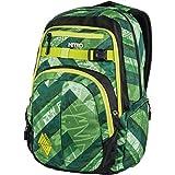 Nitro Chase Rucksack, Schulrucksack mit Organizer, Schoolbag, Daypack mit 17 Zoll Laptopfach,  Wicked Green
