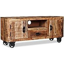 Mobiletto Porta Tv Vintage.Mobili Porta Tv Vintage Vidaxl Amazon It