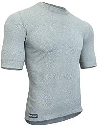 Berkner - Thermo T-shirt Herren / Skiunterwäsche / Funktionsunterwäsche - SILVER BION forte - Thermoactiv