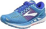 Brooks Damen Transcend 5 Laufschuhe, Blau (Blue/pink/White 1b474), 41 EU