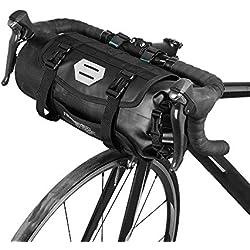 Lixada Borse Bici MTB Borsa Bicicletta Impermeabile Bicicletta Mountain Bike MTB Anteriore Manubrio Pannier a Secco con 3L-7L