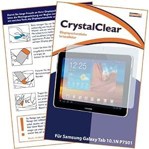 mumbi Displayschutzfolie Samsung Galaxy Tab 10.1N WiFi P7501 P7511 Displayschutz CrystalClear unsichtbar - NICHT für das 10.1 sondern NUR 10.1N