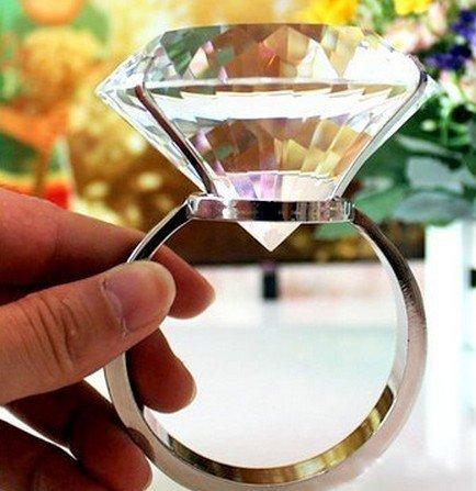 超巨大 の指輪 サプライズリング 一生思い出に残る お祝い インテリアにも  ケース付き 【80号サイズ】