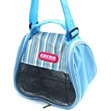 Alfie Pet By Petoga Couture - Tayte Travel Carrier Vacation House For Small Animals Like Dwarf Hamster And Mouse - Color Blue, Size: Small