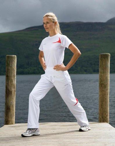 Spiro Damen Micro Lite Team Hose Navy/White