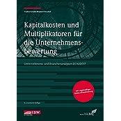 Kapitalkosten und Multiplikatoren für die Unternehmensbewertung: Unternehmens- und Branchenanalysen 2016/2017