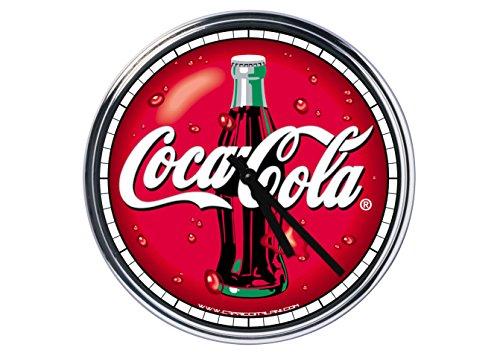 acier horloge murale Coca Cola 2