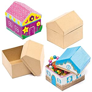 House Craft Boxes (Pack of 4)