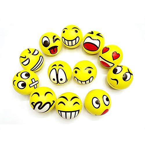 Carry stone Premium-Qualität Stressball Emoji Balls Stress Face Toy Emoji Dekompressionsball für Erwachsene und Kinder - Emojis Stress-bälle