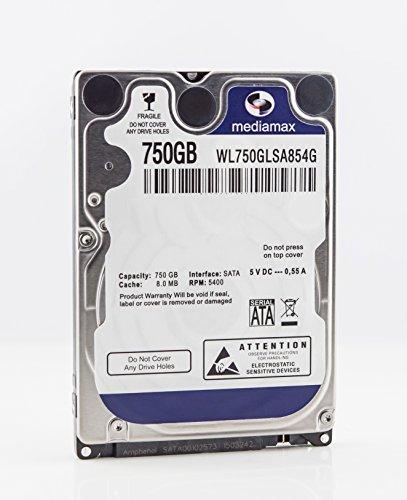 MediaMax 750GB 2.5