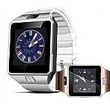 Smart Watches DZ09Bluetooth para Android, Apple, reloj inteligente, soporte para Facebook, Whatsapp, SD, SIM con cámara podómetro, color dorado