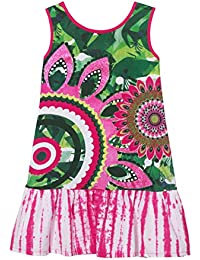 Desigual Girl Knit Dress Sleeveless (Vest_Helena), Vestido para Niñas