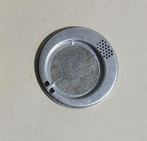 Lega Round Bee Escape ø11,5cm Made of Galvanised Inktem Plate with Two Outputs 1
