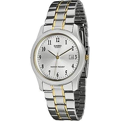 CASIO 19435 MTP-1141G-7B - Reloj Caballero Cuarzo Brazalete metálico dial Gris