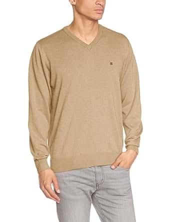 CASAMODA Herren Pullover 004130/600, Einfarbig, Gr. Medium, Beige (beige 600)