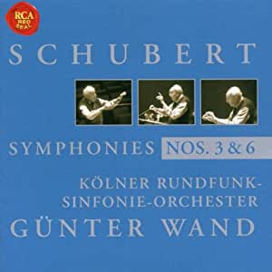 Schubert - Symphonies 3 et 6 ( enr. 1983 )