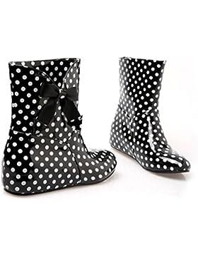 Xianshu Donna'S Caviglia Pioggia Stivali Impermeabile Altezza Aumentare Scarpe Martin