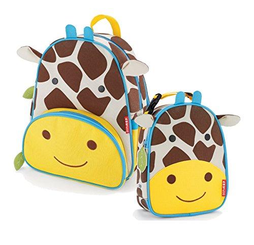 Paquetes de saltar salto tallas de S a XL en inglés de la mochila de Y de la combinado - jirafa Lunchie bolsa para el almuerzo con
