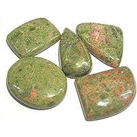 Schönes Set von fünf Unakit Cabochons Crystal Healing Reiki Feng Shui Herren Frauen Geschenk Meditation metaphysisch... preisvergleich bei billige-tabletten.eu