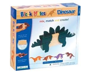 Guidecraft Block Mates Dinosaurs