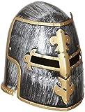 WIDMANN 01125 - Elmo da Guerriero Medievale con Visiera, in Taglia Unica