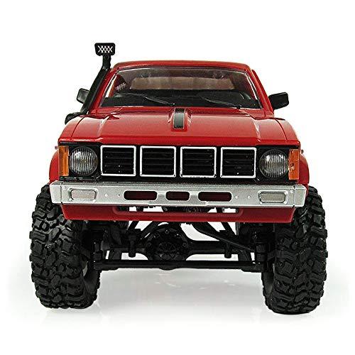 WPL C24 2,4G Fernbedienung Militär RTR RC LKW Crawler 4WD Offroad Auto Buggy für Alle Erwachsene und Kinder (Multi Farbe)
