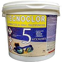 Cloro tabletas 5 acciones Tecnoclor 5 kg.