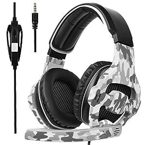 [2017 SADES SA 810S New Veröffentlicht Multi-Platform Neue Xbox ein PS4 Gaming Headset] Gaming Headsets Kopfhörer für neue Xbox One PS4 PC Laptop Mac iPad iPod