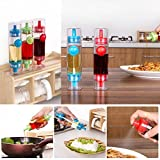 #2: Siddhi Collection 2 Way Cooking Bottle Spray Oil Sauce Vinegar Dispenser (Multicolor)